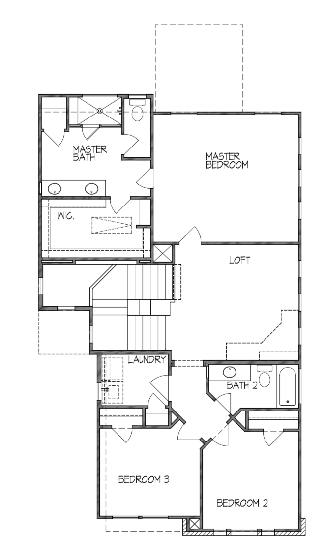 Plan 1966 2nd Floor