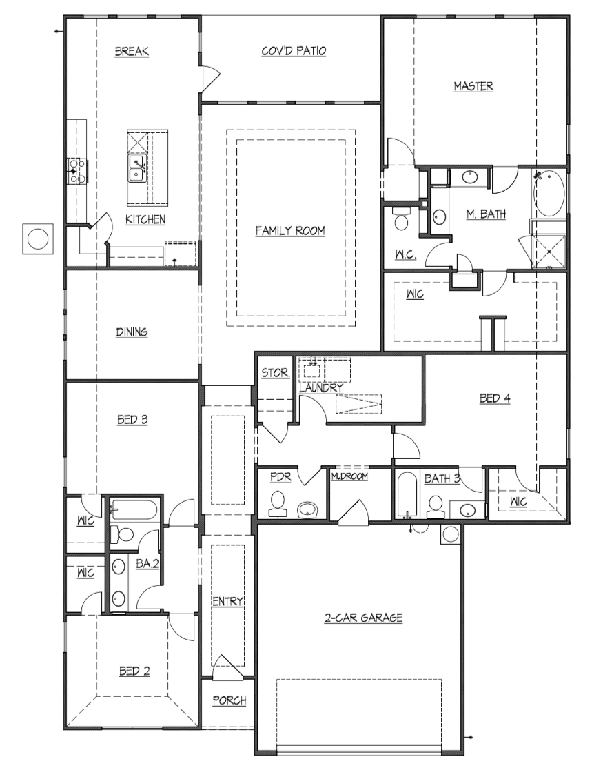 Olmsted Floor Plan