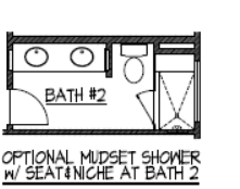Mudset Shower