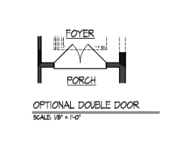 Optional Double Door