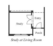 Study at Living Room