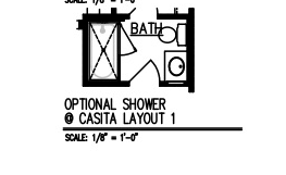 Shower @ Casita Layout