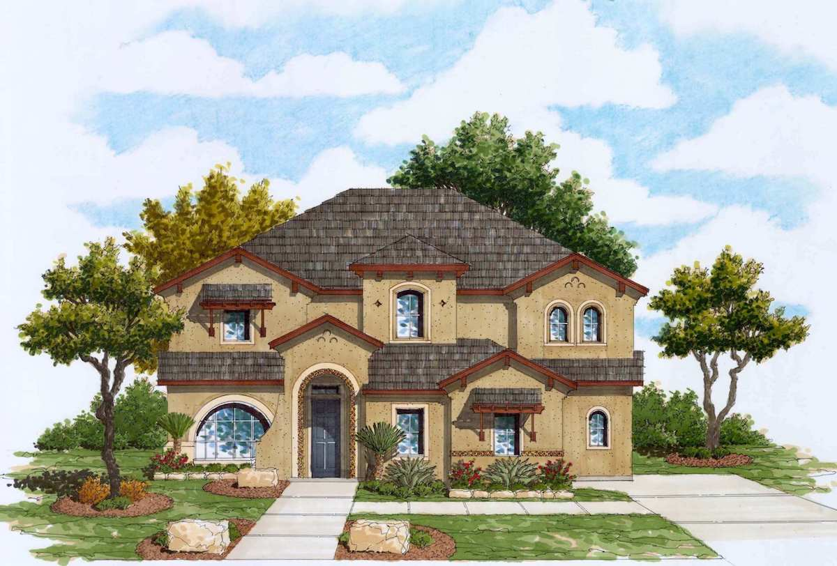 Fabulous Plan 3238 Texas Homes Home Interior And Landscaping Ponolsignezvosmurscom
