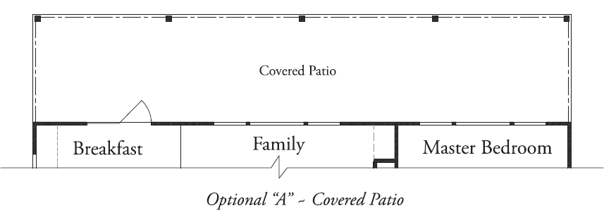"Optional ""A"" Covered Patio"