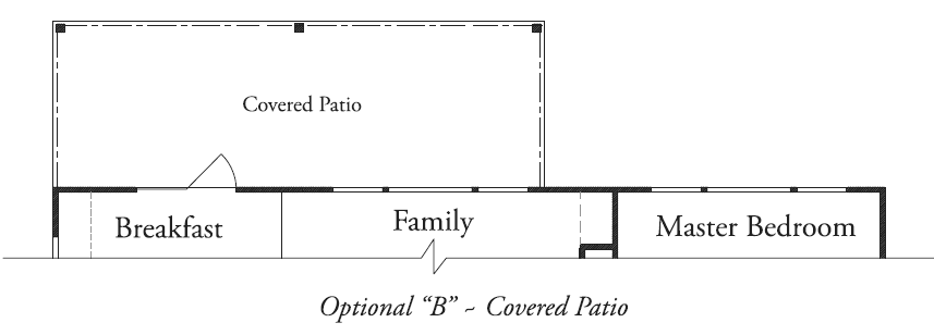 "Optional ""B"" Covered Patio"