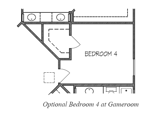 Bedroom 4 at Gameroom