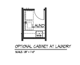 Cabinet at Laundry