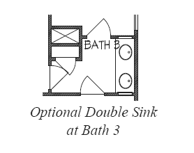Double Sink at Bath 3