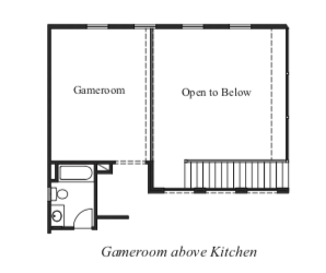 Game Room above Kitchen