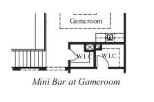 Mini Bar at Game Room