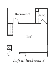 Loft at Bedroom 3
