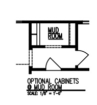 Cabinets at Mud Room