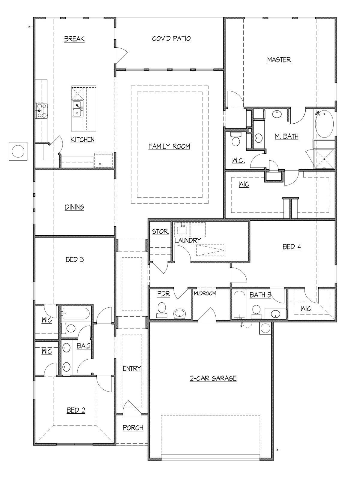 Olmsted floorplan