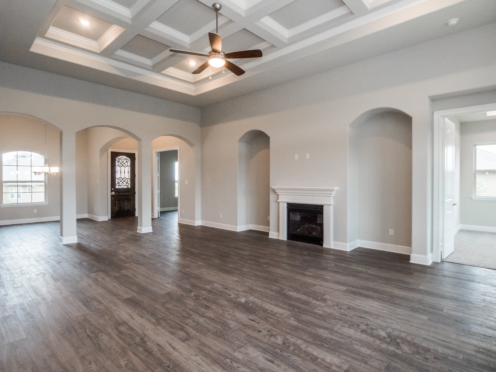 Entry & Family Room