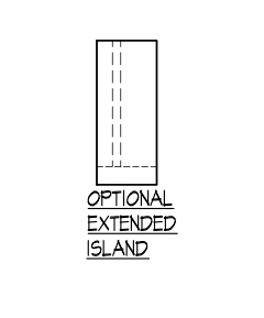 Optional Extended Island
